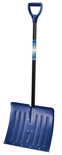 Ames True Temper 1641000 Arctic Blast 18-Inch Aluminum Snow Shovel with Wear Strip, Colors may vary