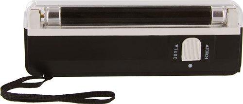 Portable Uv Light 1Uv Tube( Uv Wavelength: 365Nm) Portable Black Light With Led Flashlight, Black Pl