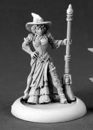 Reaper Miniatures 50236 Chrono Dita, Steampunk Witch by Reaper