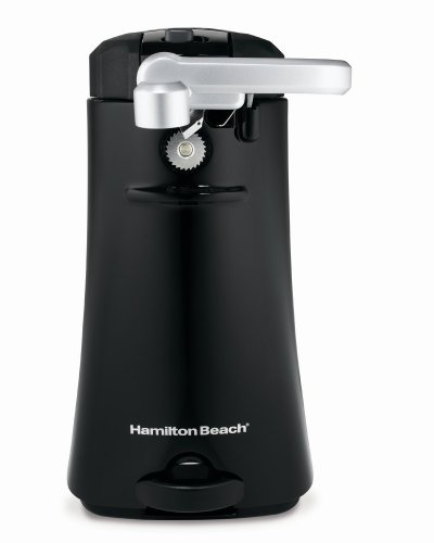 Hamilton Beach 76389R OpenStation Can Opener, Black