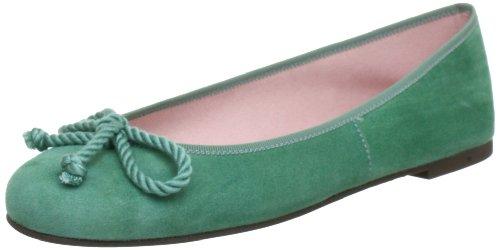 Pretty Ballerinas Pretty Ballerinas Ballet Flats Womens Green Grün (ANGELIS LUPI) Size: 5 (38 EU)