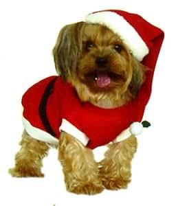 weihnachten kost me f r hunde santa mantel komplett mit. Black Bedroom Furniture Sets. Home Design Ideas