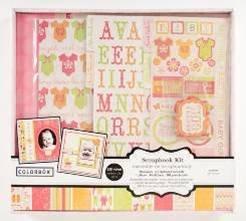 Colorbok Baby Girl Scrapbook Kit