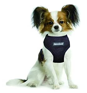 Vo-Toys Doggiduds Comfy Harness Extra Small Black 3-4 lbs