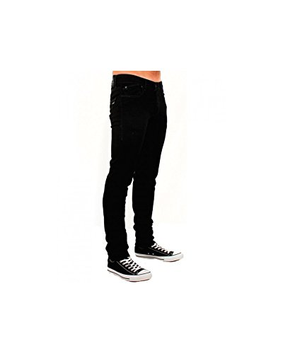 Japan Rags - Jean JH711BASBLAC Japan Rags - 38, nero