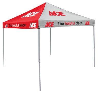 Bx/1 x 1: Logo Chair Custom Ace Tent Canopy (806293)