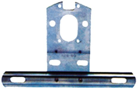 Peterson 428-09 Universal Steel License Bracket (Universal License Plate Bracket compare prices)