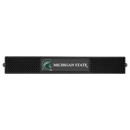 FANMATS NCAA Michigan State University Spartans Vinyl Drink Mat (Michigan State Car Mats compare prices)