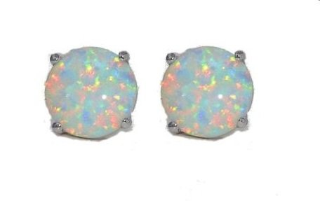 simulated-opal-round-stud-earrings-14kt-white-gold-sterling-silver