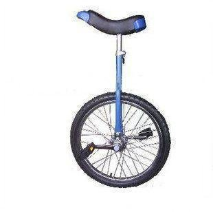 1pcs/lot Size18 inch steel blue wheels unicycle one wheel bike Suitable height 1.35-1.65m