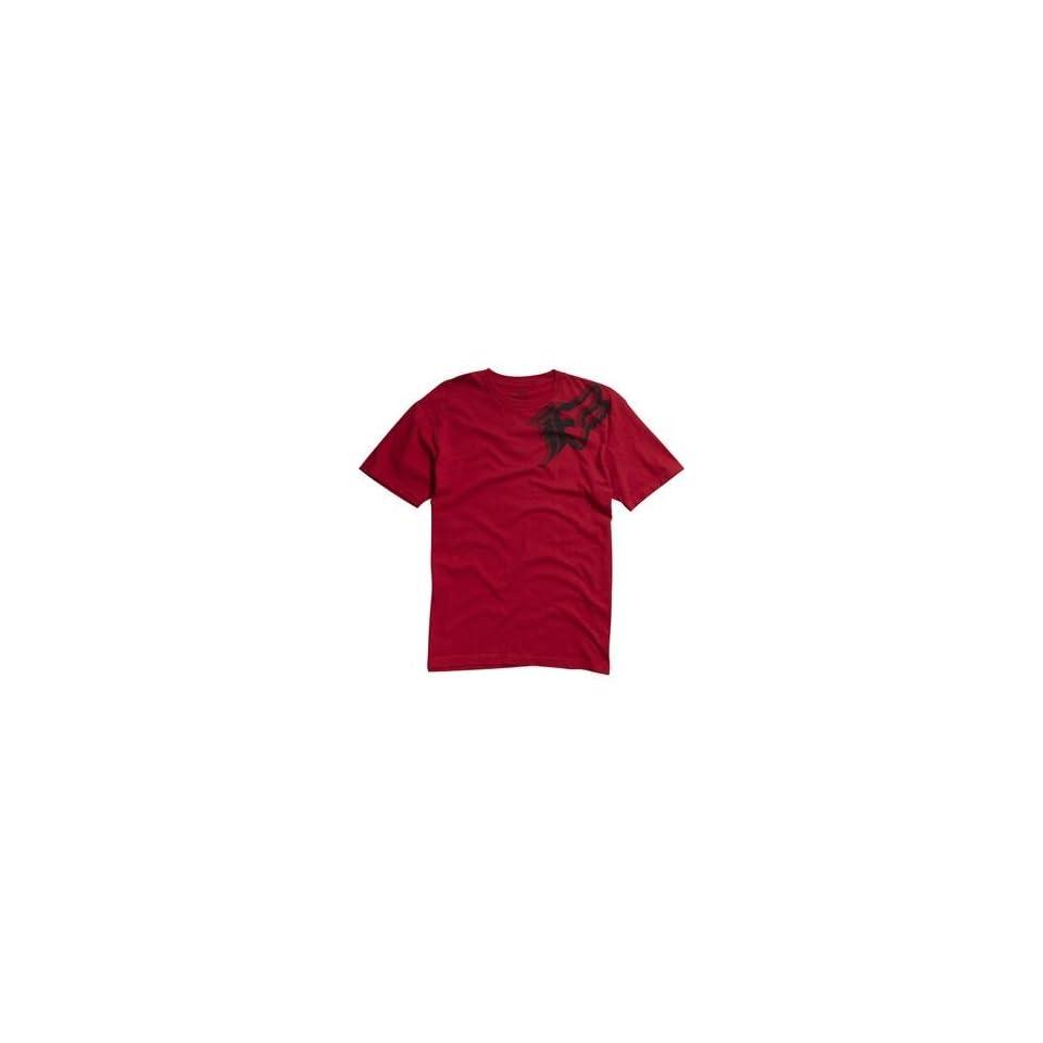 Fox Racing Intruder T Shirt   2X Large/Red Automotive