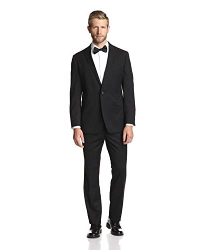 Kenneth Cole New York Men's Two Button Notch Lapel Tuxedo