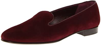 Ralph Lauren Collection Women's Quintessa Loafer,Bordeaux,6 B US