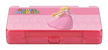 DS Official Nintendo Character 6 Game Storage Case - Peach