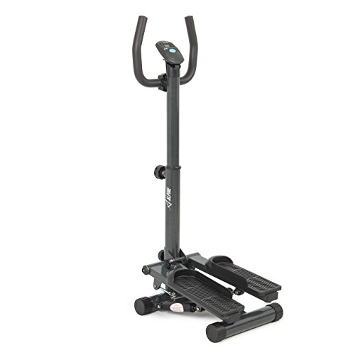 For Sale! ALPINE© Stepper with Handle Bar, Step LCD Display, Fitness Equipment GYM Training Body Wo...