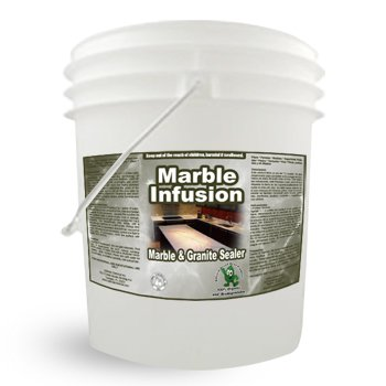 Natural Commercial Marble Granite Sealer and Countertop Sealer - Marble Maverick 5 Gallon