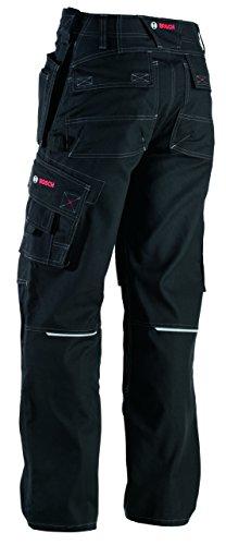 Bosch pantaloni da lavoro, WKT 09-82C62, incolore, XL, lavoro vestiti