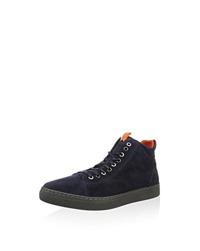 CAFèNOIR Sneaker Alta [Blu]