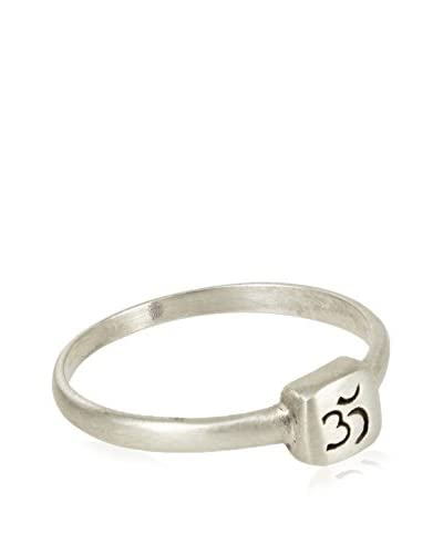 Satya Silver Etched Om Ring