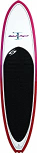 Surftech August Sup Surfboards (White/Red, 9- Feet 6-Inch)