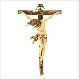Classic Renaissance Crucifix Statue by OTEW