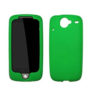 Premium Green Silicone Gel Skin Cover Case for HTC Nexus One