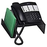 "Sparco Products Phone Stand, Steel Mesh, 10-1/2""Wx10-1/4""Dx4-1/4""H, Black"