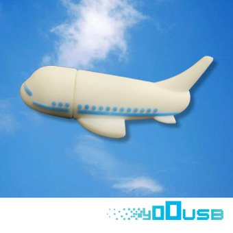 4GB Novelty Plane USB Flash Key Pen Drive Memory Stick Gift UK by YooUSB