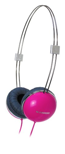 Zumreed Zum-80251 Airily Portable Headphones (Pink)