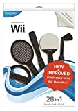 echange, troc Blue Ocean Accessories 28-in-1 Sports Pack - Black (Wii) [import anglais]