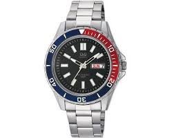 Q&Q by Citizen Men's Watch Dress/casual / Day Date / Bracelet A172-202Y