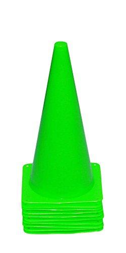 Bild von: Agility Hundesport - 10er Set Markierkegel, 38 cm, hellgrün