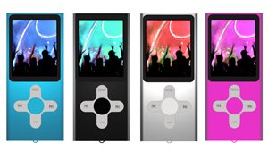 Sumvision Gio 2 2GB MP4 Player Colour PINK