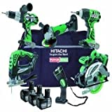 Hitachi Ktl618cj 18v 6 Pce Kit