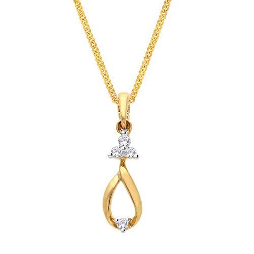 Asmi Asmi 18K Yellow Gold Diamond Pendant (Multicolor)