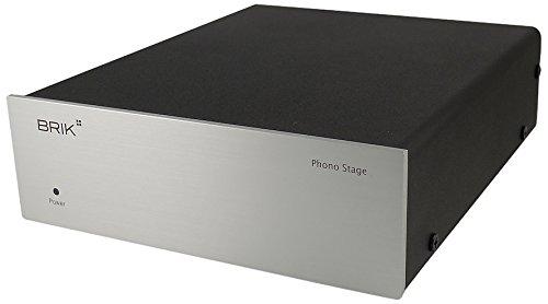 Brik Phono Stage Préamplificateur phono RCA Aluminium