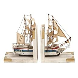 Bookends Nautical Sailboat Bookend 9\