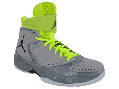 Nike Air Jordan 2012 Mens Basketball Shoes Wolf Grey Black-Silver Ice-White... by Nike