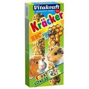 10er Pack Vitakraft Nager Kräcker Honig 2er
