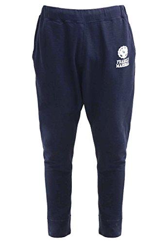 Franklin & Marshall - Pantaloni, Uomo, Blu (Blau (Navy)), S