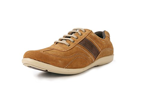 BACCA-BUCCI-MEN-TAN-GENUINE-LEATHER-CASUAL-SHOES