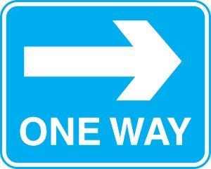 Site Traffic Sign - One Way System - Right Arrow (3mm aluminium / 600 ...: www.amazon.co.uk/Site-Traffic-Sign-System-aluminium/dp/B002S5LG0S