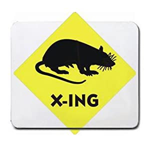 RAT CROSSING Mousepad
