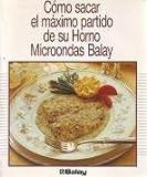 COMO SACAR EL MAXIMO PARTIDO DE SU HORNO MICROONDAS BALAY. Con recetas.