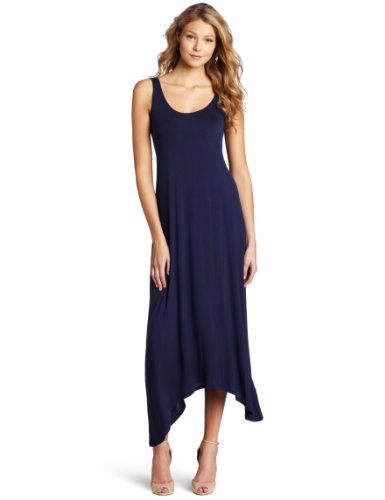 Kensie Women's Asymmetrical Maxi Dress