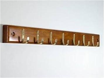 Wood Belt Rack Closet Organizer