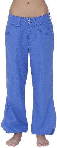 Roxy Sofia-Pantaloni da donna Flat, Donna, Hose Sofia Flat, blu, 25