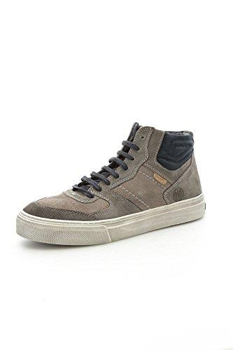 Wrangler WM142133 Sneakers Uomo Camoscio Antracite/Grigio Antracite/Grigio 41