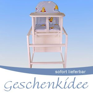 kinderhochstuhl babyhochstuhl weiss stuhl tisch. Black Bedroom Furniture Sets. Home Design Ideas