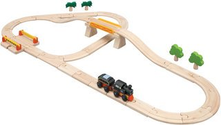Rail Set 35 Pcs Plan City - Buy Rail Set 35 Pcs Plan City - Purchase Rail Set 35 Pcs Plan City (Plan Toys, Toys & Games,Categories,Play Vehicles,Wood Vehicles)